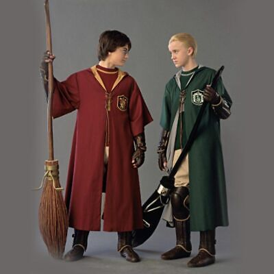 Adult Harry Potter Cosplay Robe Cloak Gryffindor Slytherin Hufflepuff Costume