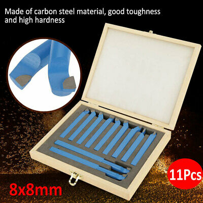 11pcs Carbide Tip Tipped Cutter Tool Bit Cutting Set For Milling Lathe Tooling