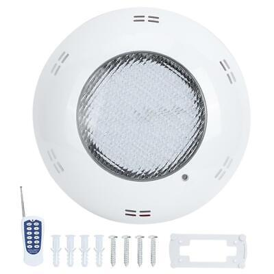 18W 159LED Swimming Pool Light IP68 Waterproof Remote Control Decorative Lamps A