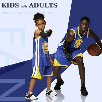 Golden State Warriors Kinder Basketball Trikot NB #30 Stephen Curry Jerseys Set ()