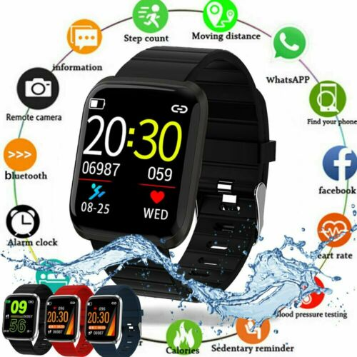 Smart Watch Bracelet Wristband Fitness Tracker Blood Pressur