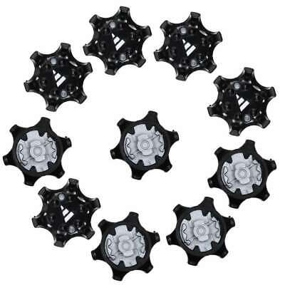 Golf Shoe Spikes Fast Twist Cleats Spikes Replacement Fits Adida-10pcs DS ()