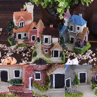Mini House Miniature House Fairy Garden Micro Landscape Home Decoration Random