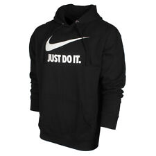 Nike Men's Just Do It Swoosh Logo Graphic Fleece Pullover Hoodie