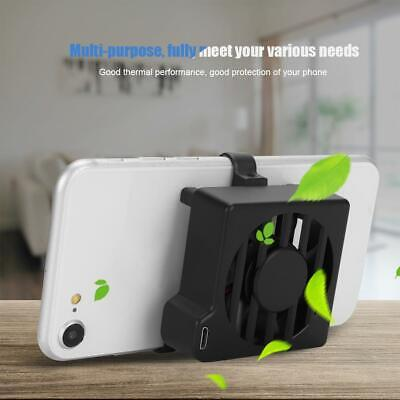 Pad Mobile - Mini Mobile Phone Cooling Fan Pad Cell Phone Radiator Cooler Holder for Game