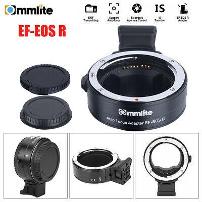 Adaptador de lente Commlite CM-EF-EOS R para Canon EF / EF-S Lens...