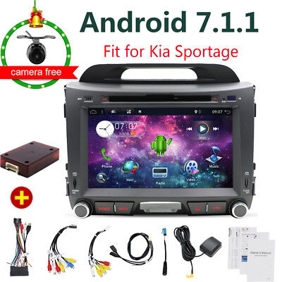 für Kia Sportage 2010-2015 ANDROID 7.1 AUTORADIO DVD Navi BLUETOOTH GPS RDS DAB+ 2010 Bluetooth