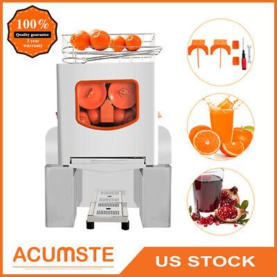 Commercial Squeezer Electric Juicer Extractor Citrus Fruit Juice Orange Machine