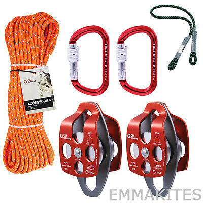 Tree Climbing Kits Rigging Line Prusik For Pulley System Srt Climbing Arborist