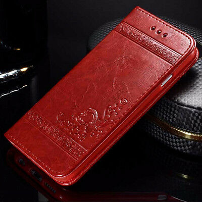 Luxury Magnetic Flip Wallet Case Leather Phone Cover for Samsung Galaxy S9 Plus Magnetic Wallet Case