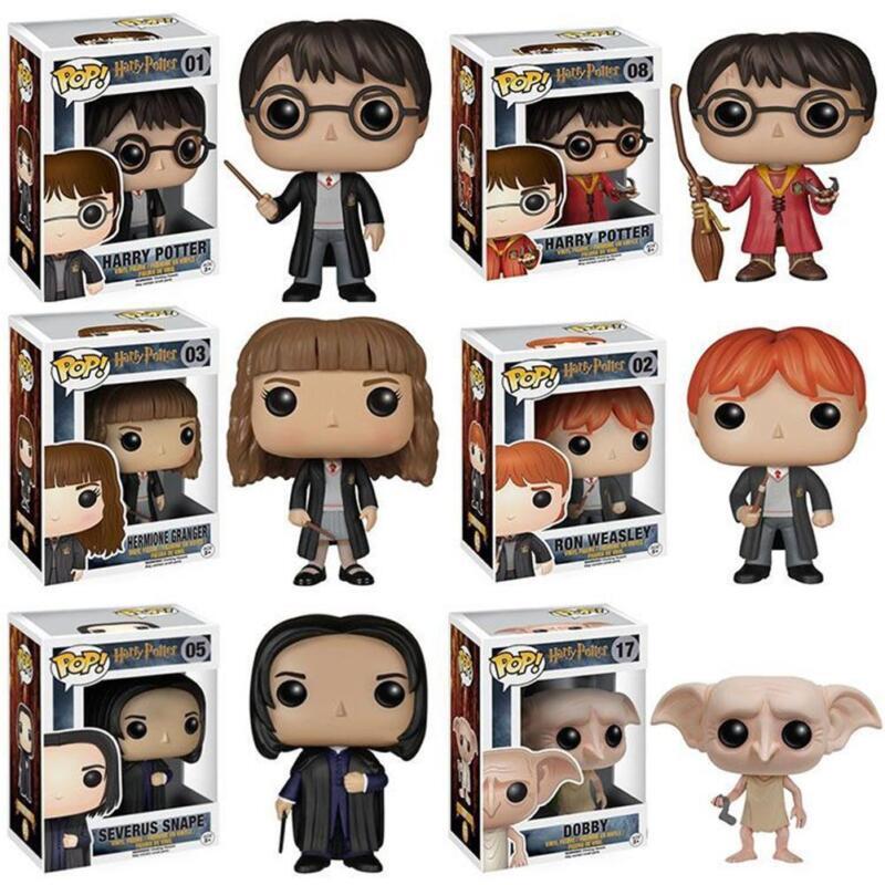 Figurine Modèle Jouets Harry Potter Triton Malfoy Rogue Hermione Q Ver