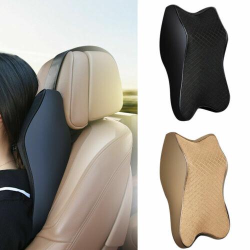 Car Seat Headrest Neck Rest Cushion BLACK