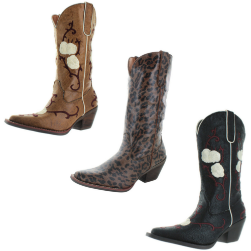 Nomad Buck Women's Western Cowboy Boots Cowgirl Was: $100 Now: $22.99 and Free Shipping.
