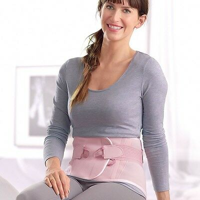 FLA for Women Pro-Lite Lumbar Sacral Support Brace, Rose or Lavender - #7279X