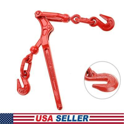 Load Binder Lever 14-516 Inch Chain Hook Tie Down Rigging Equipment 1pc