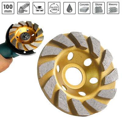 4 Diamond Segment Grinding Wheel Cup Disc Grinder Concrete Granite Stone Cut