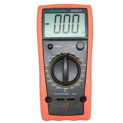 Aidetek Dm4070 Lcr Inductance Resistance Capacitance Meter Test Meters Detectors