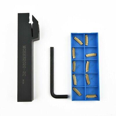 2mm-Width Herramienta Soporte Ranurado de Corte Accesorios Torno MGEHR2020-2