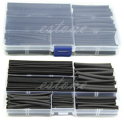 Wire Cable Sleeving 150pcs 2:1 Halogen-Free Heat Shrink Wrap Sleeves Tubing Tube