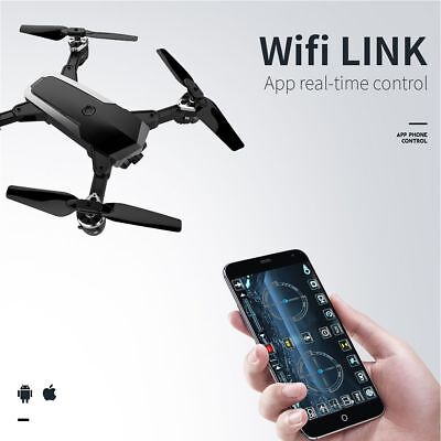 JD20S WiFi FPV 0.3 / 5MP Camera with HD Wide Angle Camera Foldable Drone US