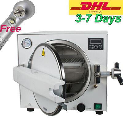 Autoclave Medical Steam Sterilizer Unit With Tray 18l 1340.22mpa Dental Lab Ce