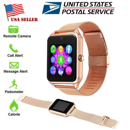 Bluetooth Smartwatch Unlocked Watch Phone for Samsung Galaxy Note 8 9 10 10 Plus Cell Phones & Accessories