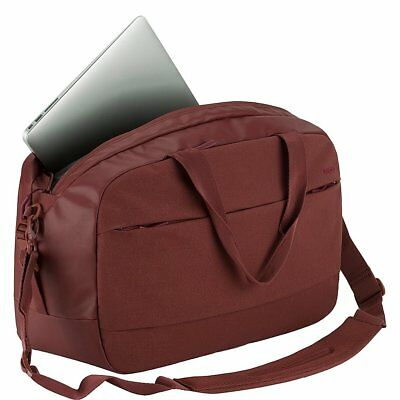 Incase City Duffel Padded Laptop Macbook Tablet Bag 23L Deep Red