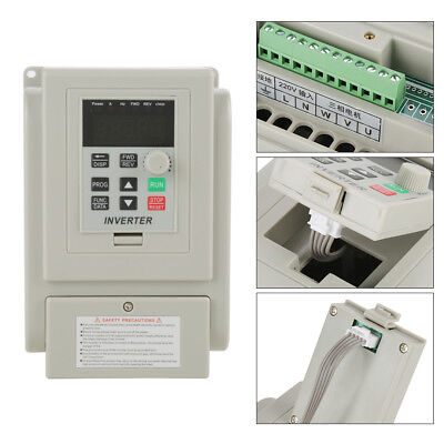 220v 2hp 1.5kw Single Phase To 3 Phase Output Frequency Converter Vfd Vsd Hot