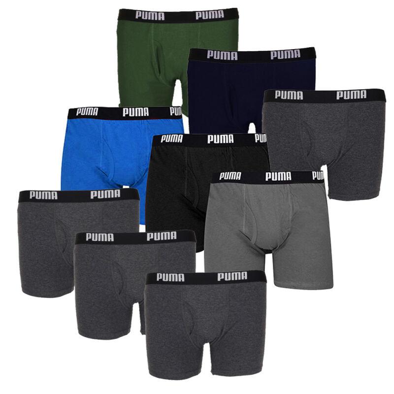 Puma Men's 3-Pack Cotton Boxer Briefs