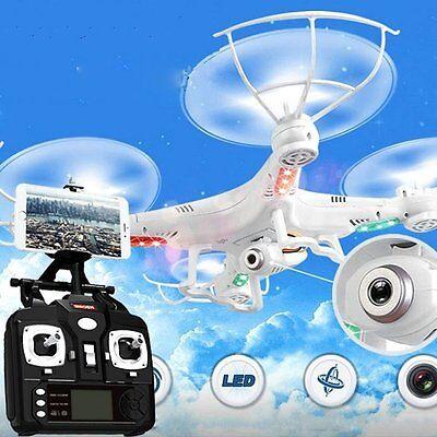 360° X5C 2,4 GHz 6 Achse Drohne 3D Quadrocopter mit HD 2 MP Kamera RTF Weiß DE