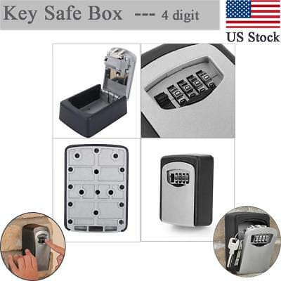 New Style Home Security Wall Mount Outdoor Combination Key Storage Lock Box