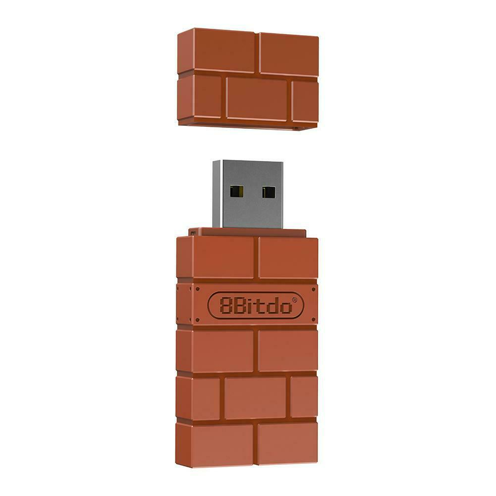 8Bitdo Wireless Bluetooth Controller Receiver USB Adapter Fo