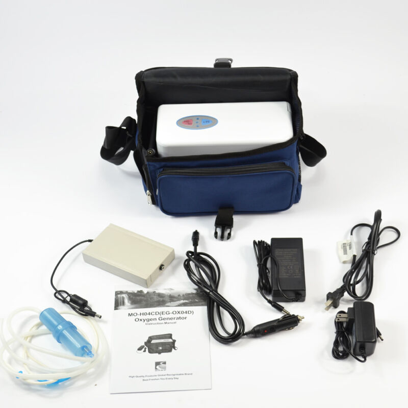 Genuine Eget Portable Oxygen Concentrator Generator With Battery