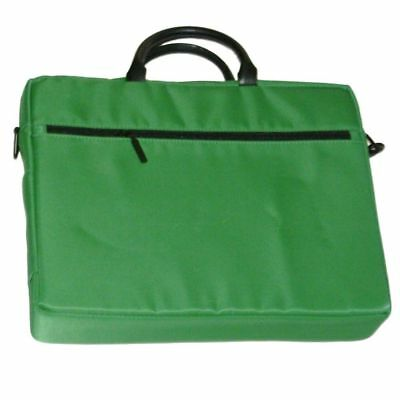 Computer Laptop Bag Green Briefcase Padded Organizer Travel Case Briefcase Green Laptop Case