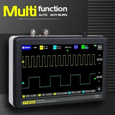 New 7 Inch Digital Tablet Oscilloscope 2ch 100mhz Bandwidth 1gs Sampling Rate