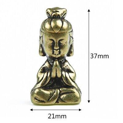 Pantalla Buda Figurita Cuarto de Estar Interior Oficina Decoración Miniatura