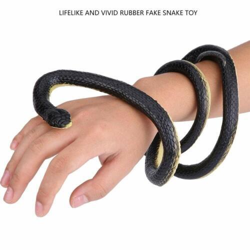 130 cm Schlange Simulation Gummi Tier Figurine Spielzeug Witz Geschenk für Junge