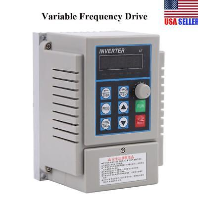 Ac 220v 0.75kw Variable Frequency Drive Vfd Speed Single Phrase 3ph Out Inverter