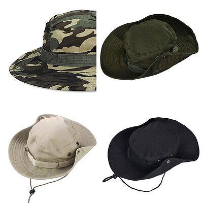 668c4c51cd0 Details about Outdoor Unisex Bucket Hat Summer Sailing Fishing Sun Canvas  Travel Cap