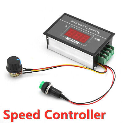 Motor Speed Governor Dc6-60v Pwm Module 30a Digital Display Controller Switch