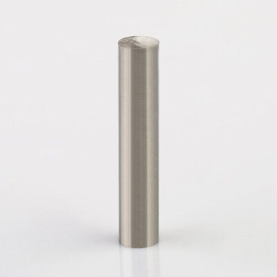 2 Inch Long 99.95 Pure Tungsten Element Rod Electrodes Metal Cylinder
