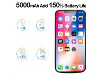 Battery Case for iPhone X 5000mAh BRAND NEW