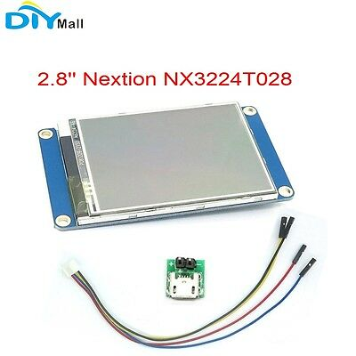 2.8 Nextion Nx3224t028 Hmi Tft Touch Lcd Display Usart Resistive Touch Panel