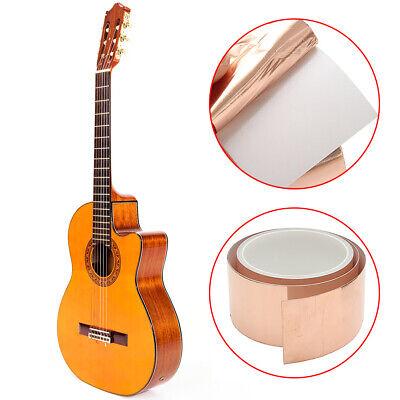 3m50mm Guitar Copper Foil Tape Emi Shielding Barrier Conductive Copper Foil