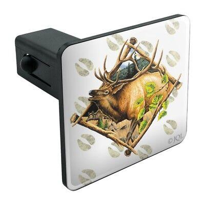 Elk Diamond Tow Trailer Hitch Cover Plug Insert