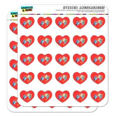 - Sushi Tuna Fish Yellowtail Roll Heart Planner Scrapbook Craft Stickers