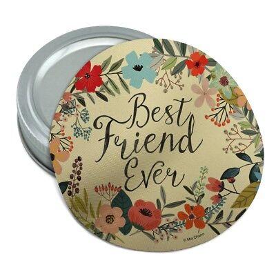 Best Friend Ever Floral Round Rubber Non-Slip Jar Gripper Lid