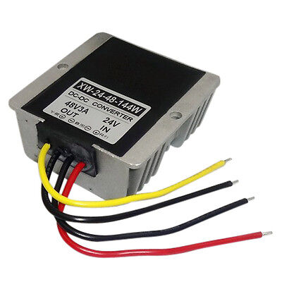 Dc 24v To Dc 48v 3a 144w Converter Regulator Step Up Power Supply Booster Module