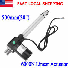 Linear Actuator DC12V Electric Motor 6000N Max Lift Water-proof Heavy Duty 500mm