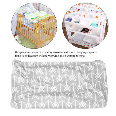 Soft Baby Changing Table Pad Cover Toddler Protective Mattress Crib Bed Sheet MF